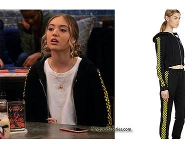 THE EXPANDING UNIVERSE OF ASHLEY GARCIA : Brooke's tracksuit in S1E05