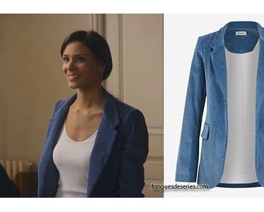 PROFILAGE : Saison 10 Épisode 2 le blazer en velours bleu d'Elisa