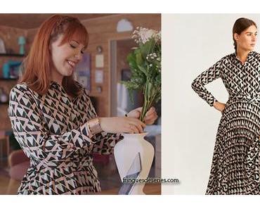 DEMAIN NOUS APPARTIENT : la robe imprimée d'Amanda dans l'épisode 684