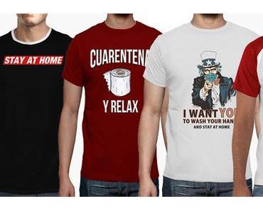 STYLE : des t-shirts conseils anti corona virus