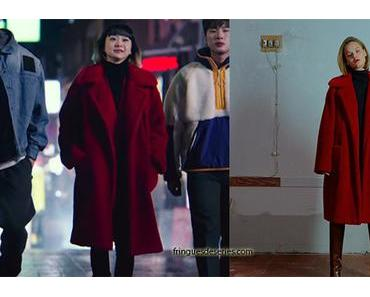 ITAEWON CLASS : Jo Yi Seo's red coat in S1E01