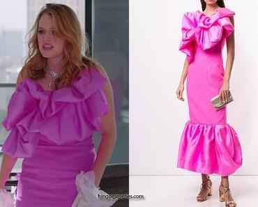 DYNASTY : Kirby's fuchsia-pink dress in S3E20