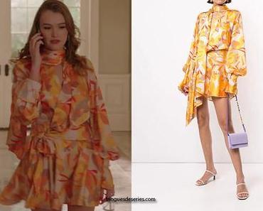 DYNASTY : Kirby's Multicoloured dress in S3E20