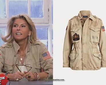 AFFAIRE CONCLUE : un look militaire comme Caroline Margeridon