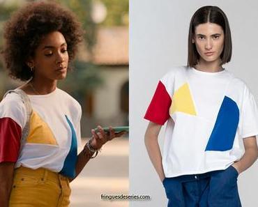 SUMMERTIME : le t-shirt colorblock de Summer dans l'épisode 1