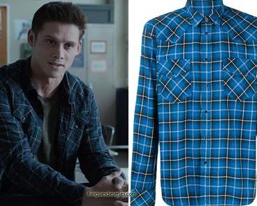 13 REASONS WHY : Monty's western shirt in S4E04