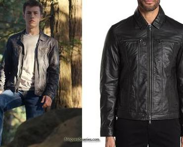 13 REASONS WHY : Clay's leather jacket in S4E04