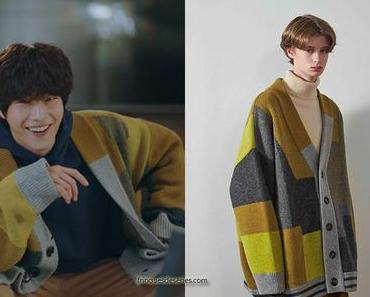 THE KING ETERNAL MONARCH  : Jo Eun Sup's maxi cardigan