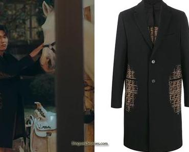 THE KING ETERNAL MONARCH : Emperor Lee Gon's black coat in S1E02