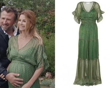 DEMAIN NOUS APPARTIENT : la robe verte de Chloé pour le mariage de sa mère