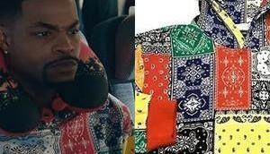 SNEAKERHEADS Bobby's bandana print hoodie S1E05