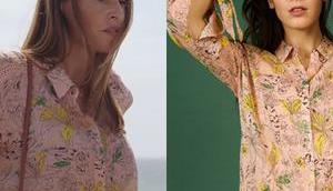 DEMAIN NOUS APPARTIENT chemise fleurs Rose dans l'épisode