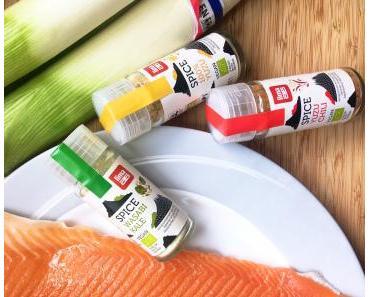 Adoptons les Epices JaponaisesSpice«100% Yuzu», «Yuzu Chili», «Wasabi Kale»