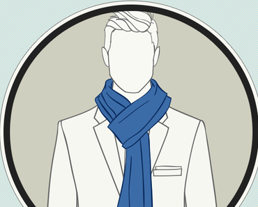 Comment porter et nouer un foulard homme