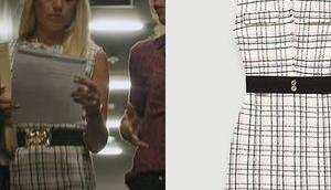 GRAND SOLEIL robe tweed Johanna dans l'épisode