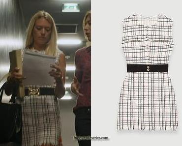 UN SI GRAND SOLEIL : la robe en tweed de Johanna dans l'épisode 515