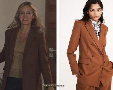 ICI TOUT COMMENCE : le blazer caramel de Claire Guinot dans l'épisode 11