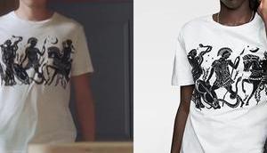 """DEMAIN NOUS APPARTIENT t-shirt """"antiquité"""" Jules dans l'épisode"""