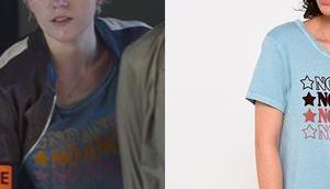 """CÉSAR WAGNER t-shirt Angel"""" dans l'épisode"""