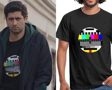 DEMAIN NOUS APPARTIENT : la mire sur le t-shirt de Georges dans l'épisode 818