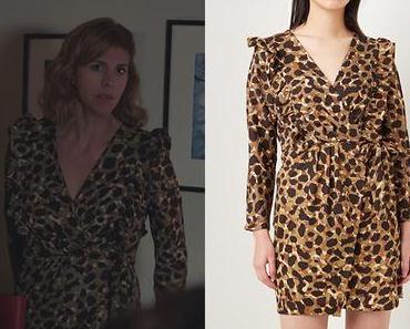 DEMAIN NOUS APPARTIENT : la robe imprimé animal de Sandrine dans l'épisode 840