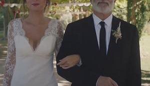 TOUT COMMENCE robe mariée Salomé dans l'épisode