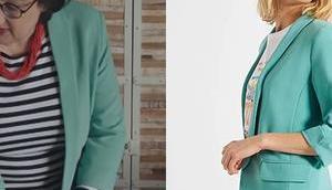 DEMAIN NOUS APPARTIENT blazer vert amande Mona dans l'épisode