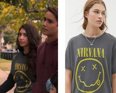 Love, Victor : Pilar's Nirvana t-shirt in S1E01
