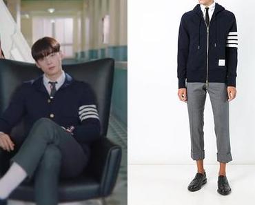 TRUE BEAUTY : Lee Su-Ho's navy hoodie in S1E1