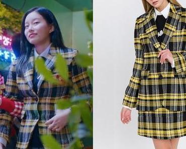 TRUE BEAUTY : Soo-Jin's yellow tartan jacket in S1E01