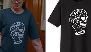 TRUE BEAUTY Ju-kyung's Lover print t-shirt S1E02