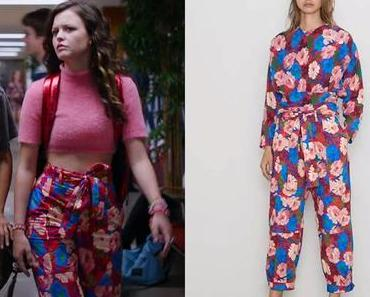 GINNY & GEORGIA : Maxine's floral pants in S1E02