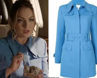 DYNASTY : Fallon's blue coat  in season 4