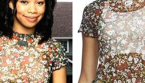 Stop Embarrassing Sasha Dixon's floral mesh
