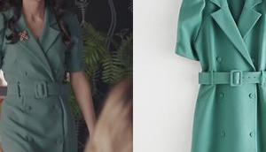 DEMAIN NOUS APPARTIENT robe verte Camille dans l'épisode