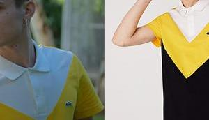ELITE Short stories Omar Ander Alexis Ander's color block polo shirt