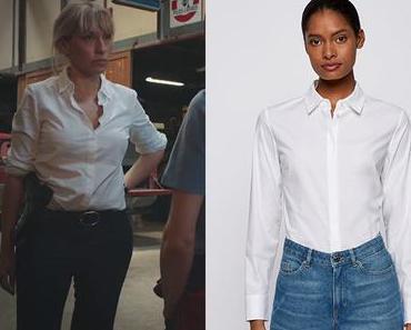 DEMAIN NOUS APPARTIENT : la chemise blanche d'Aurore dans l'épisode 977