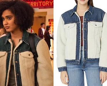 NEVER HAVE I EVER : Fabiola's sherpa jacket in S2E07