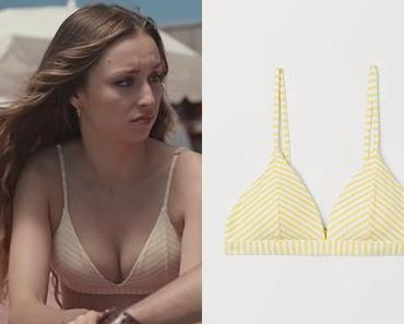 DEMAIN NOUS APPARTIENT : le bikini à rayures jaunes de Sofia dans l'épisode 979
