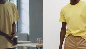 DEMAIN NOUS APPARTIENT t-shirt jaune Souleymane dans l'épisode