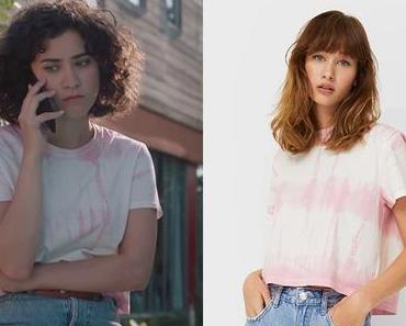 DEMAIN NOUS APPARTIENT : le t-shirt rose de Mathilde dans l'épisode 2001