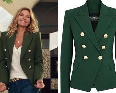DEMAIN NOUS APPARTIENT : un blazer vert comme Chloé