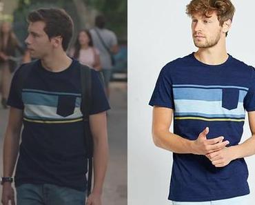 ICI TOUT COMMENCE : le t-shirt bleu de Lionel dans l'épisode 216