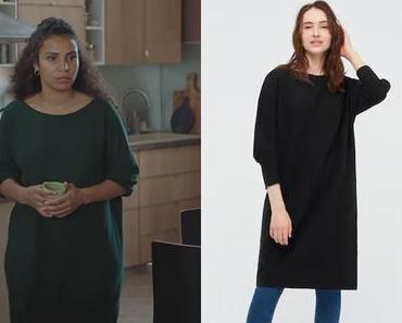 DEMAIN NOUS APPARTIENT : la robe noire d'Irène dans l'épisode1016