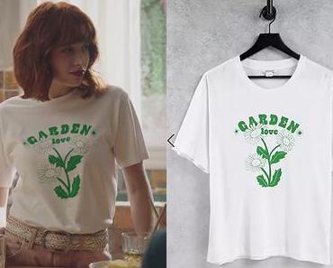 """ICI TOUT COMMENCE : le t-shirt """"garden love"""" d'Ambre dans l'épisode 234"""