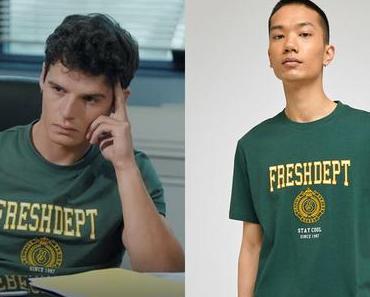 INFLUENCES : le t-shirt vert de Romain dans l'épisode 1