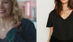 DEMAIN NOUS APPARTIENT: t-shirt couleur nuit Lætitia dans l'épisode 1019
