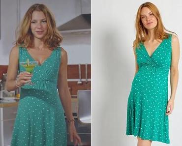 PLUS BELLE LA VIE : la robe verte de Léa dans l'épisode 4377