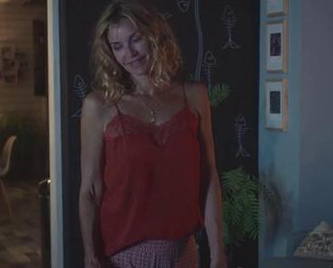 DEMAIN NOUS APPARTIENT : le caraco rouge de Chloé dans l'épisode 1023