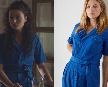 DEMAIN NOUS APPARTIENT : la combi bleue de Manon dans l'épisode 1023